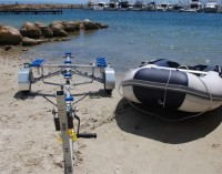Can carry Inflatable boats up to 4.3m long