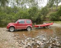 Off Road with the Bulldog FBT / Kayak trailer