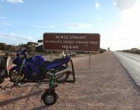 The Bike trailer